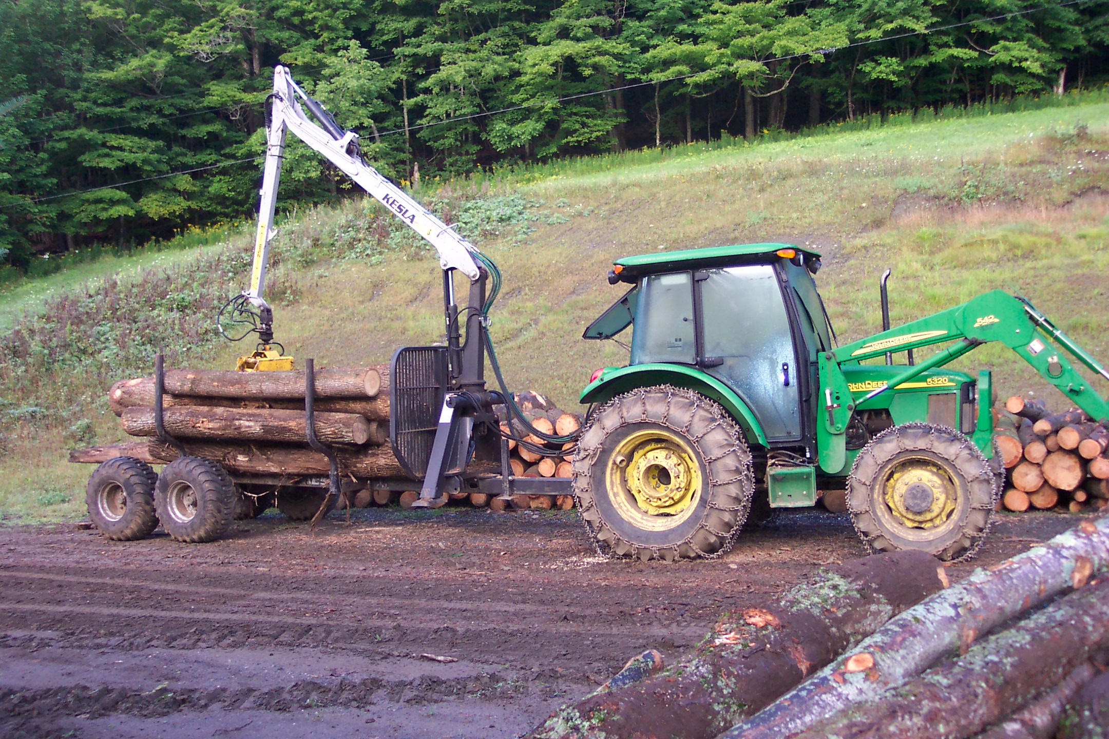 Low impact log forwarder